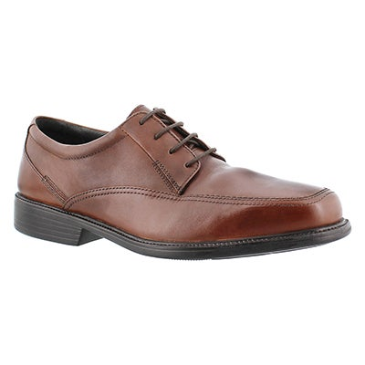 Bostonian Men's IPSWITCH brown dress oxfords - Wide