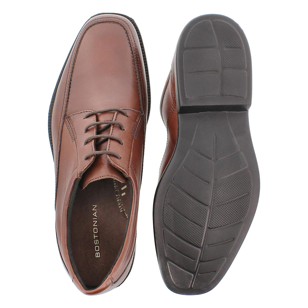Mens Ipswitch brown dress oxford