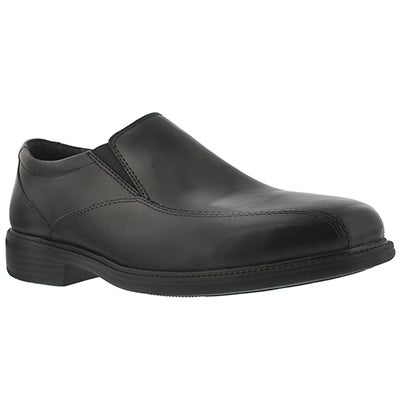 Bostonian Men's BOLTON black dress slip-on shoes - Wide
