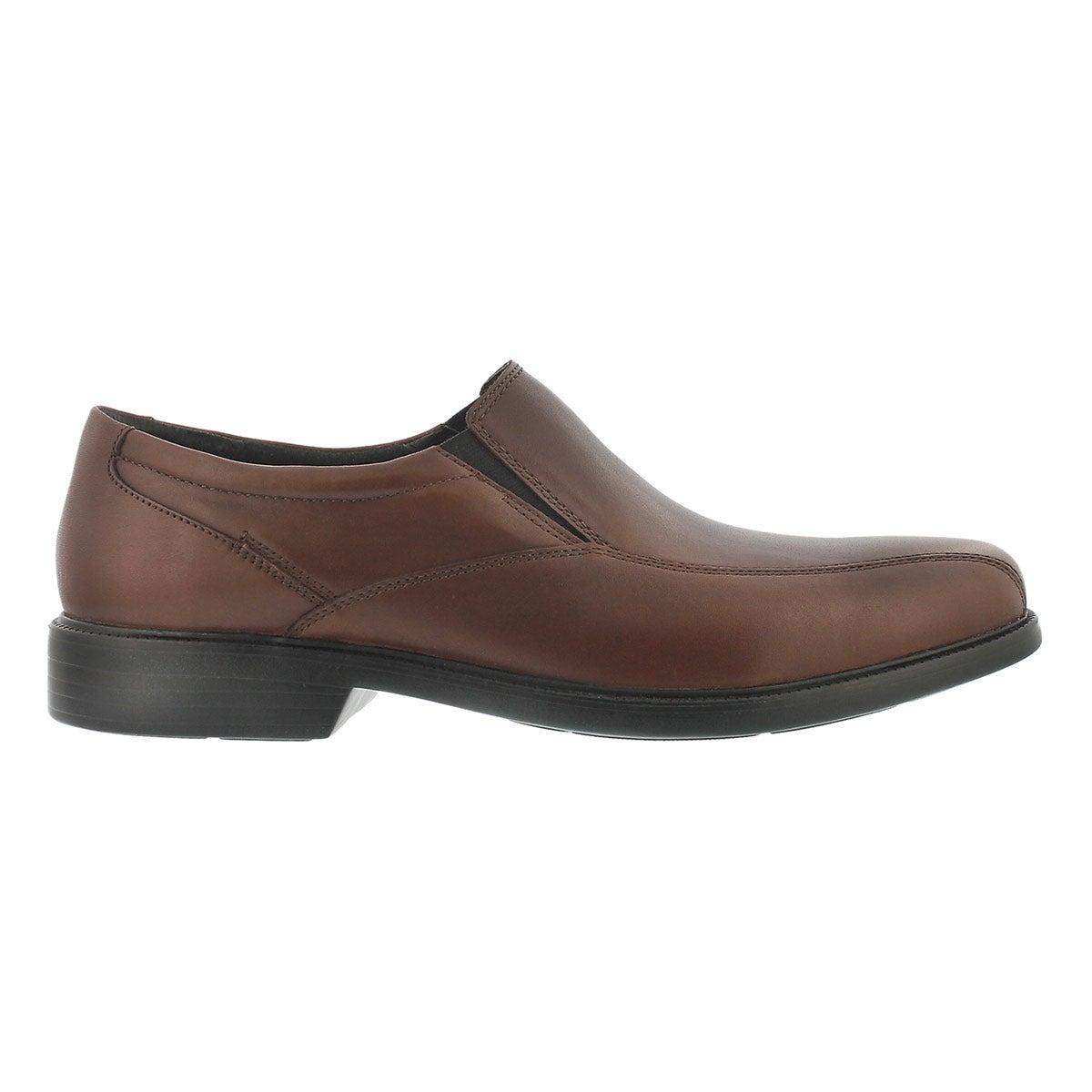 Mns Bolton brown dress slip on