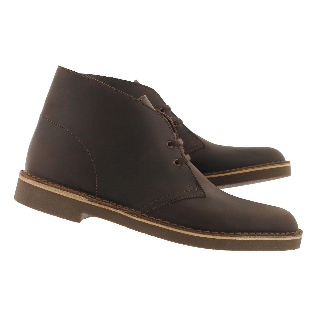 Mns Bushacre 2 dk brn lthr desert boot