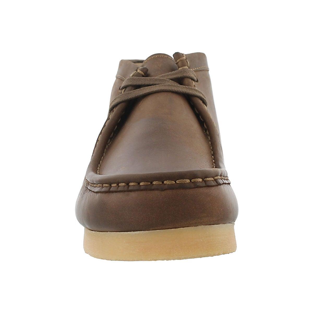 Mns Stinson Hi beeswax casual shoe