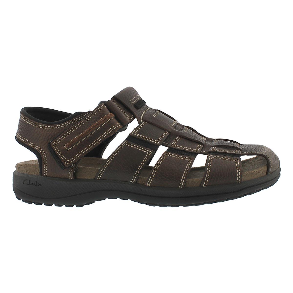 Mns Jensen brown fisherman sandal