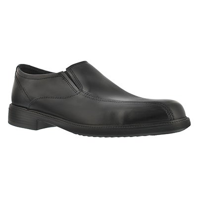 Bostonian Men's BARDWELL STEP black slip on dress shoes