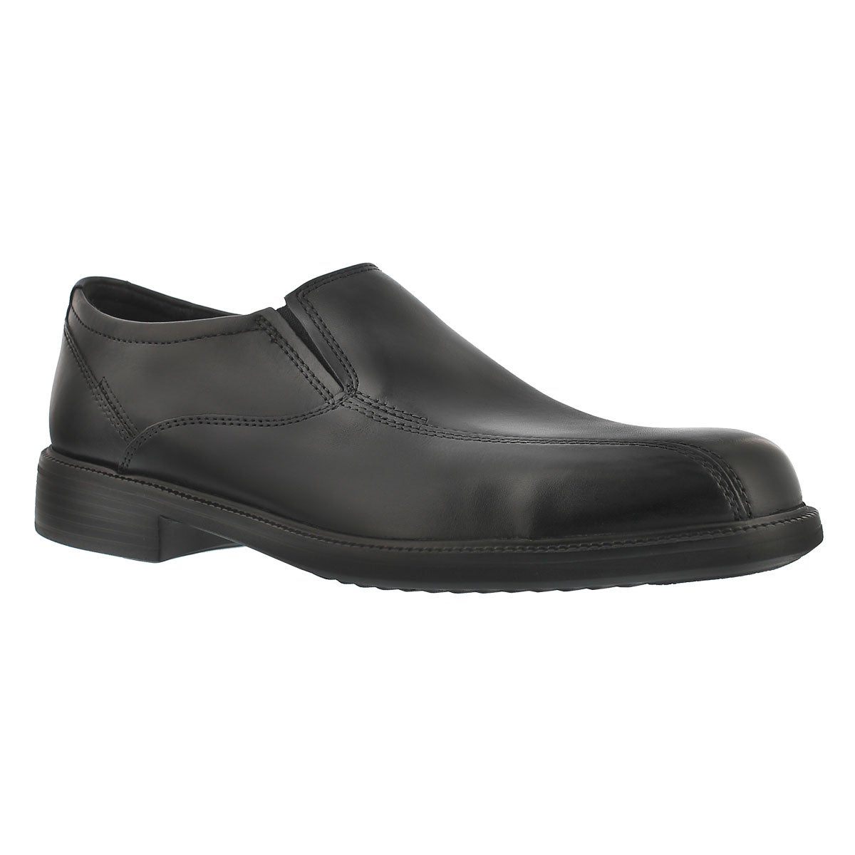 Men's BARDWELL STEP black slip on dress shoes