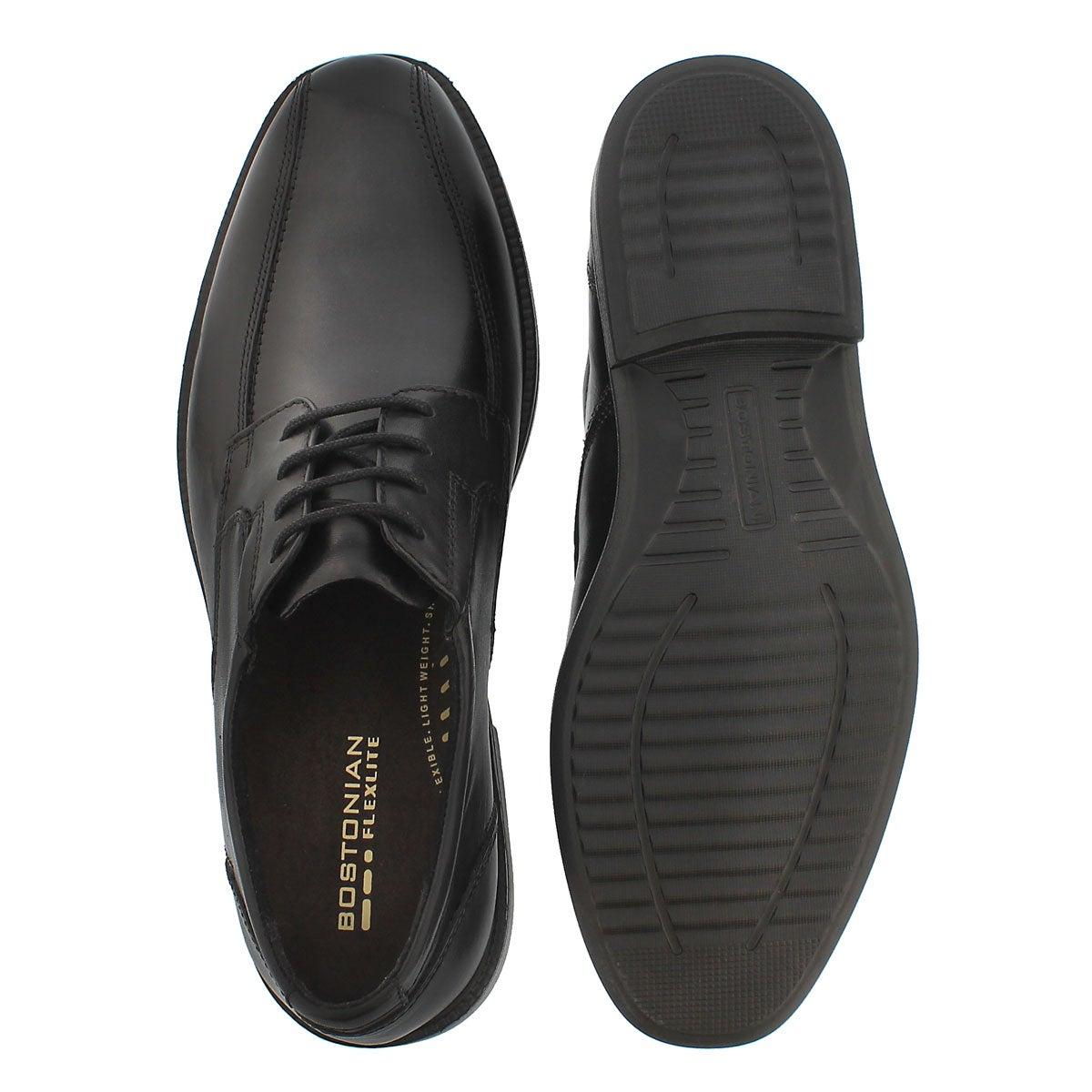 Mns Bardwell Walk blk lace up dress shoe