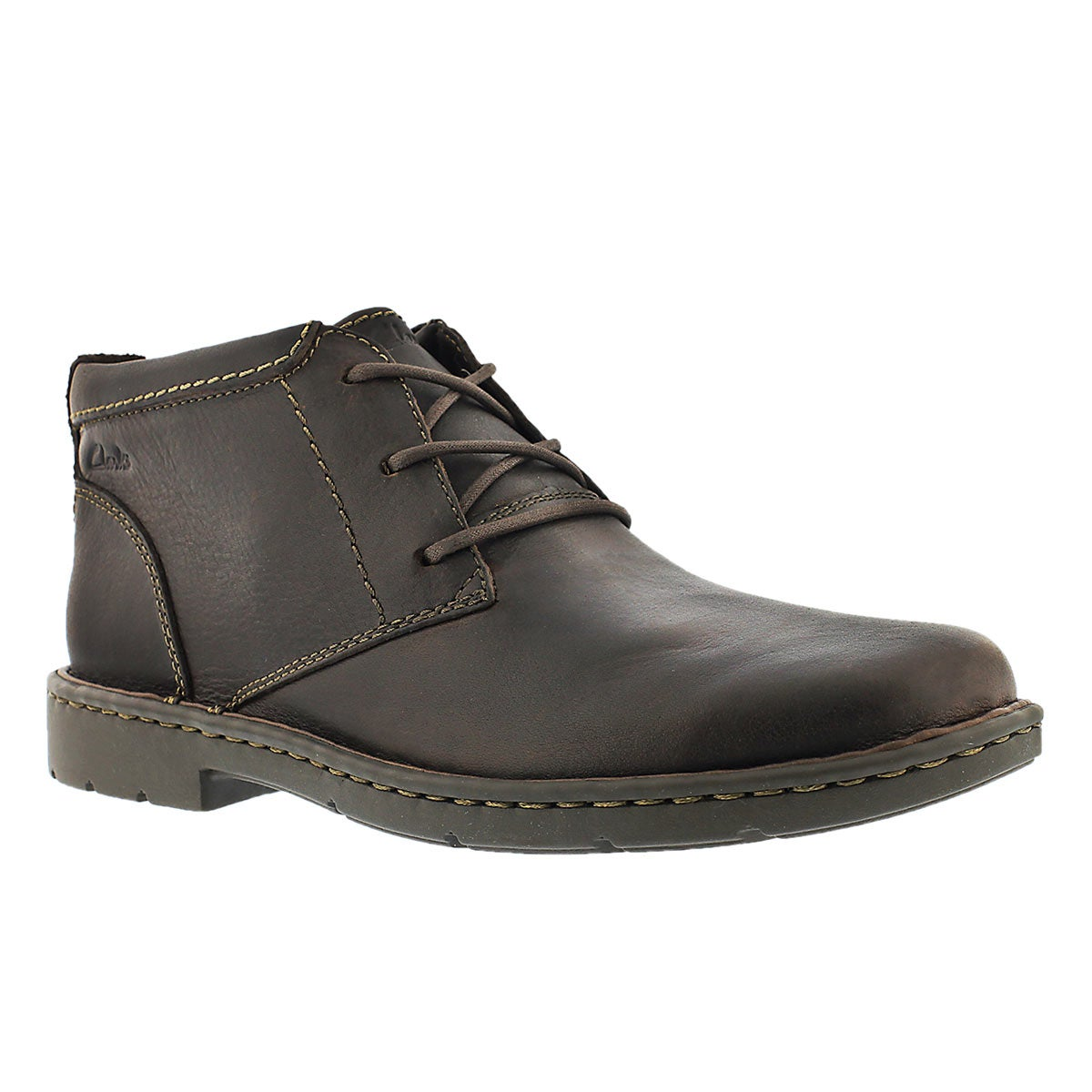 Mns Stratton Limit brn ankle boot - wide