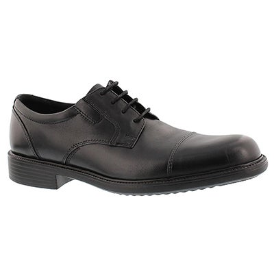 Bostonian Men's BARDWELL LIMIT black toe cap oxfords