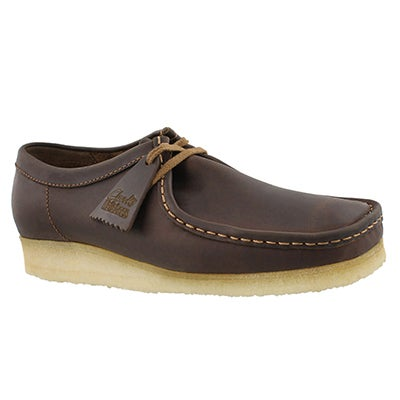 Mns Wallabee beeswax casual shoe