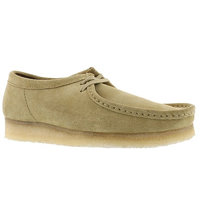 Mns Wallabee maple casual shoe