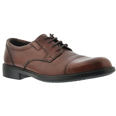 Bostonian Men's BARDWELL LIMIT brown toe cap oxfords