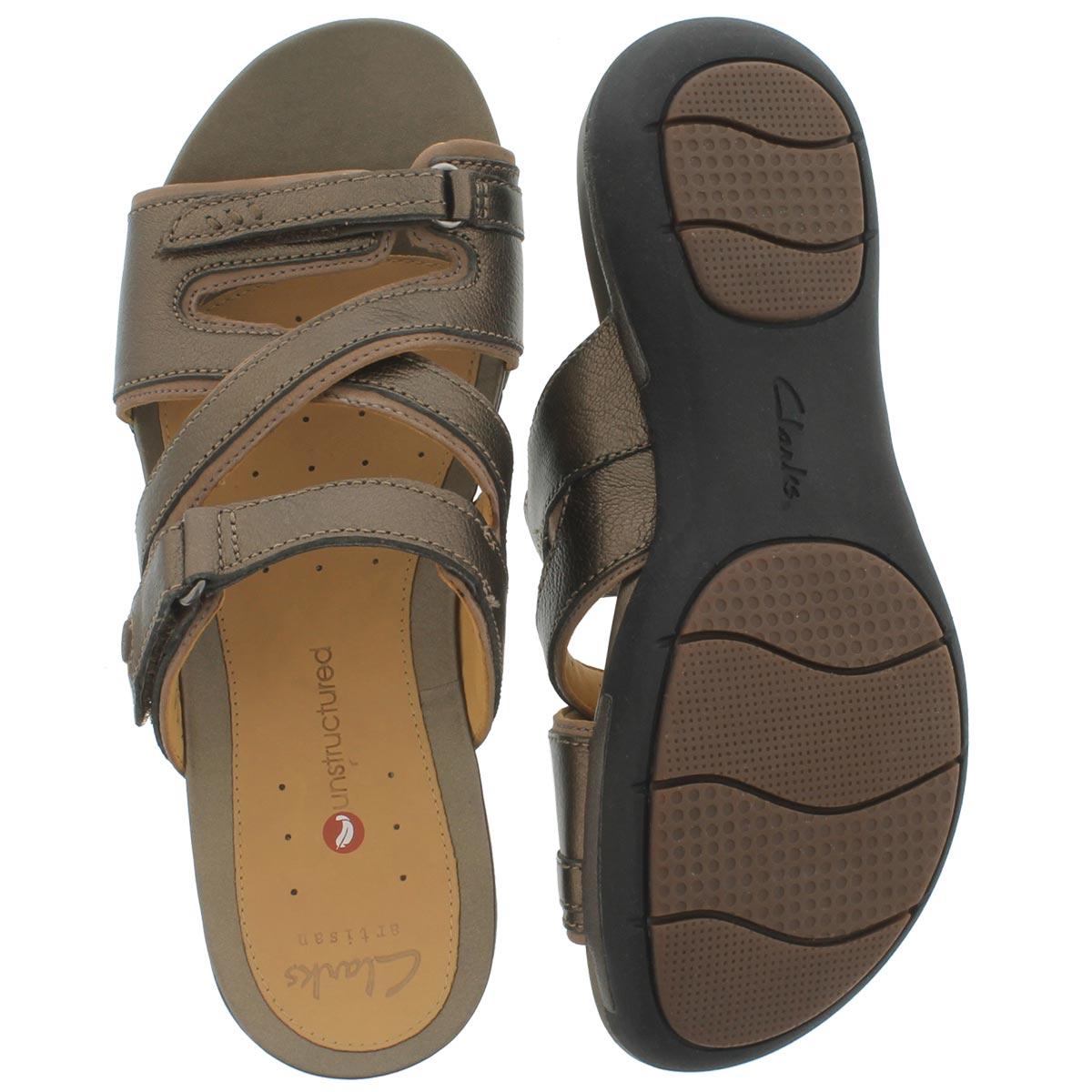 Sandale déc. Un.Verlee, bronze, fem