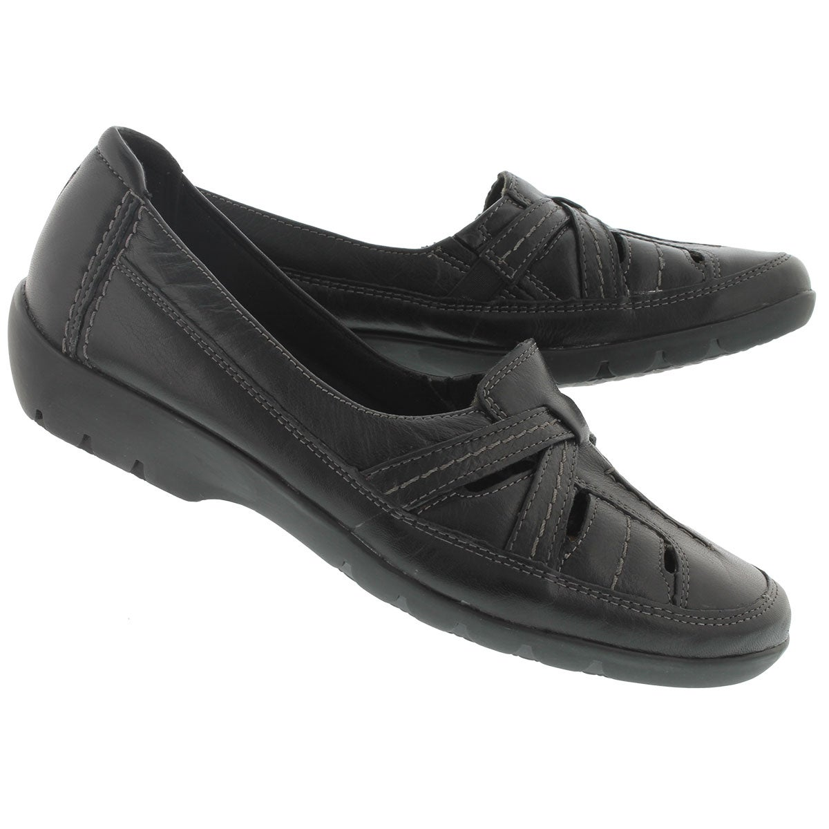 Lds Ordell Ava black slip on casual shoe