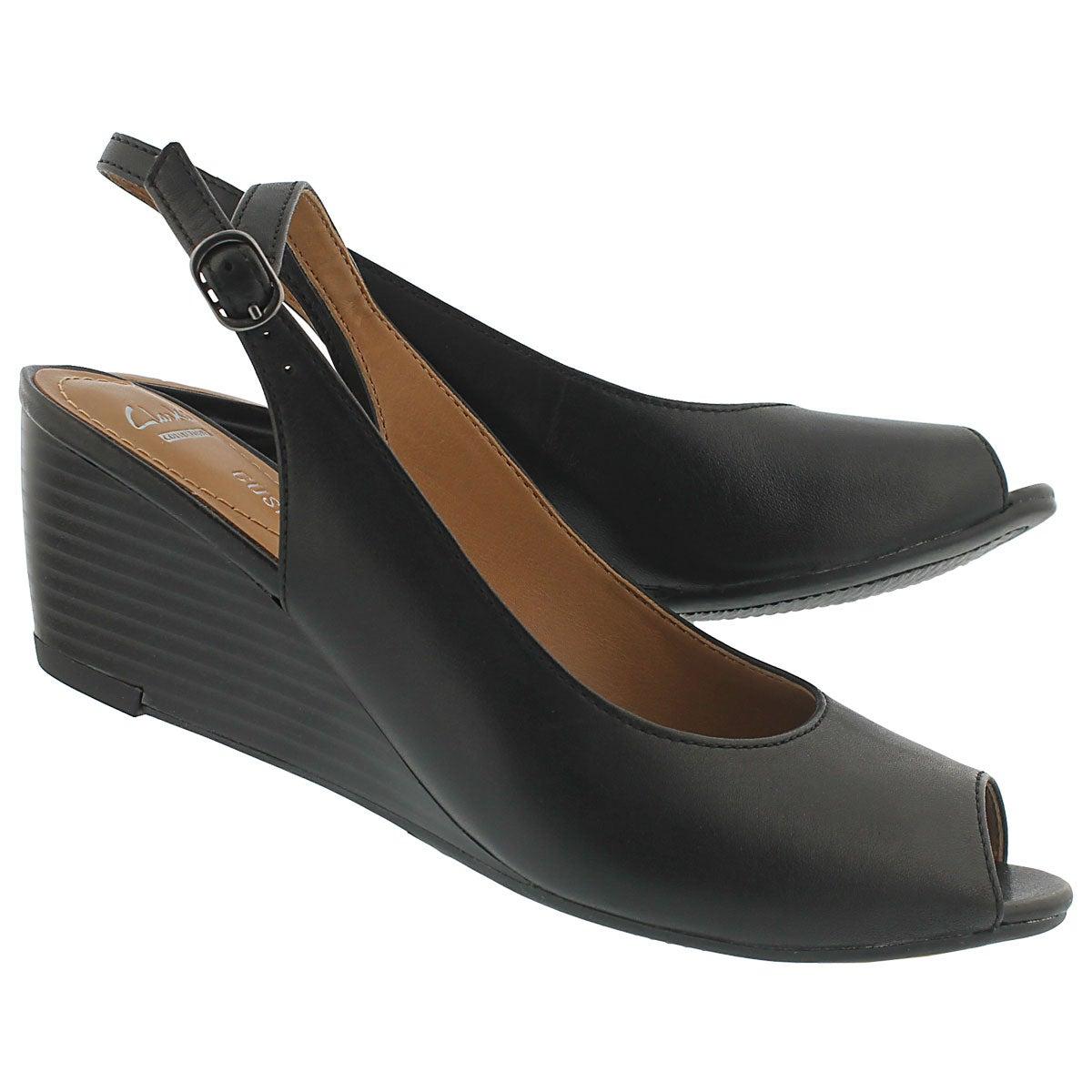 Escarpin-sandale BrielleApril, noir, fem