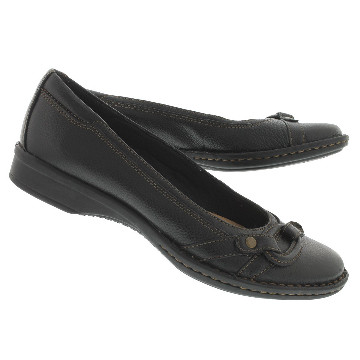 Lds Alley black dress flat