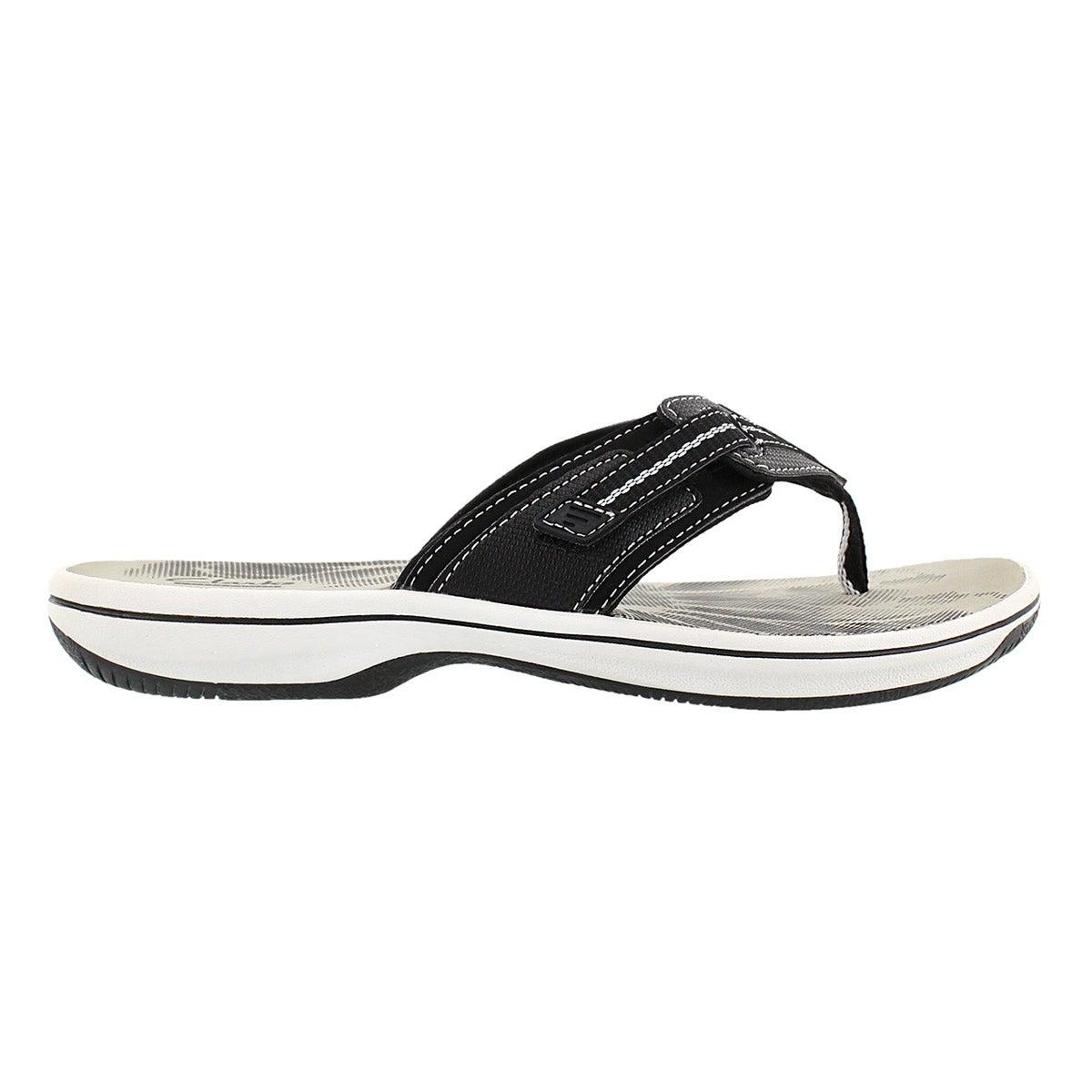 Lds Brinkley Jazz black thong sandal
