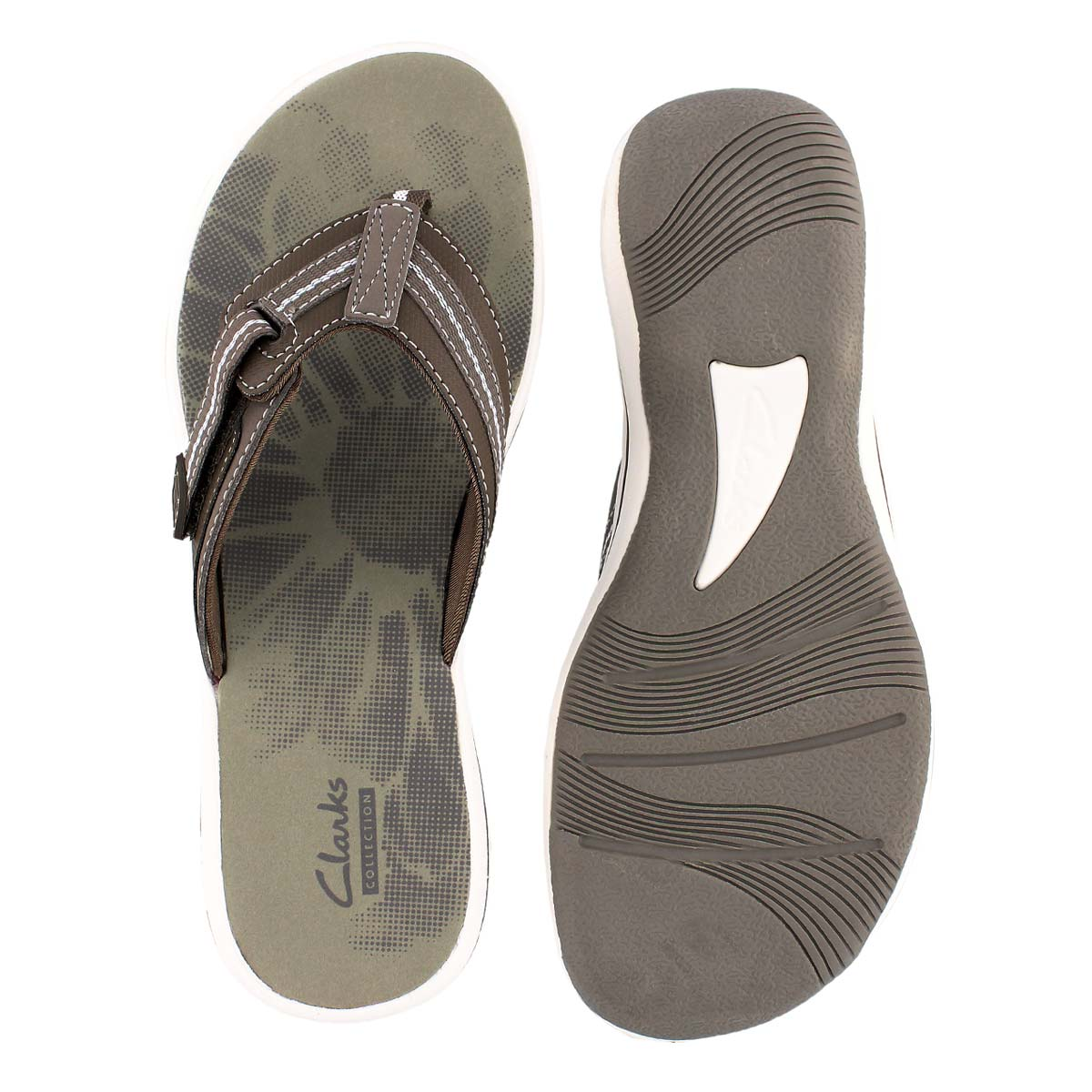 Lds Brinkley Jazz pewter thong sandal