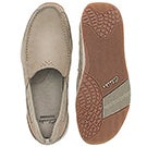 Mns AllstonFree taupe slipon casual shoe