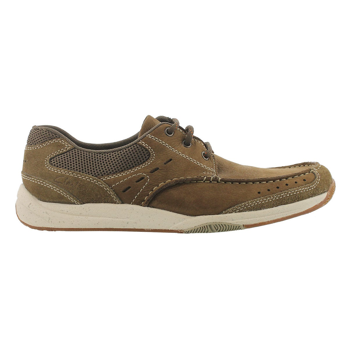 Mns Edge olive lace up casual shoe