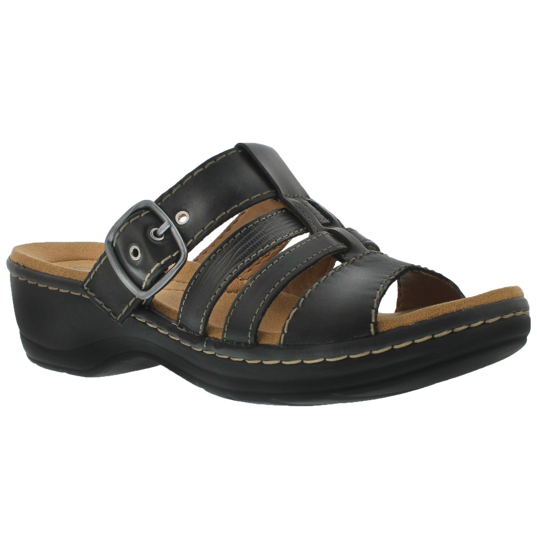 Sandales décon. Cavern, noir, fem