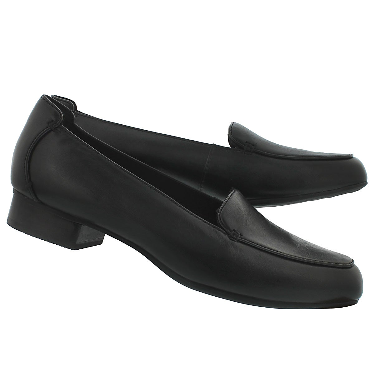 Lds Keesha Luca black loafer - wide