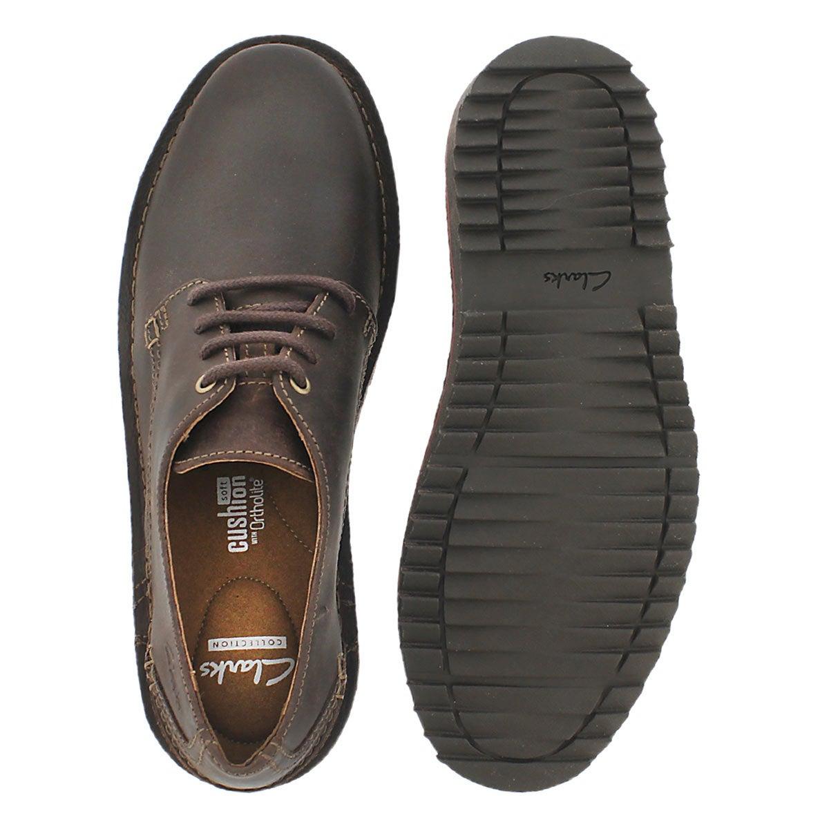 Mns Remsen Limit brn lace up casual shoe