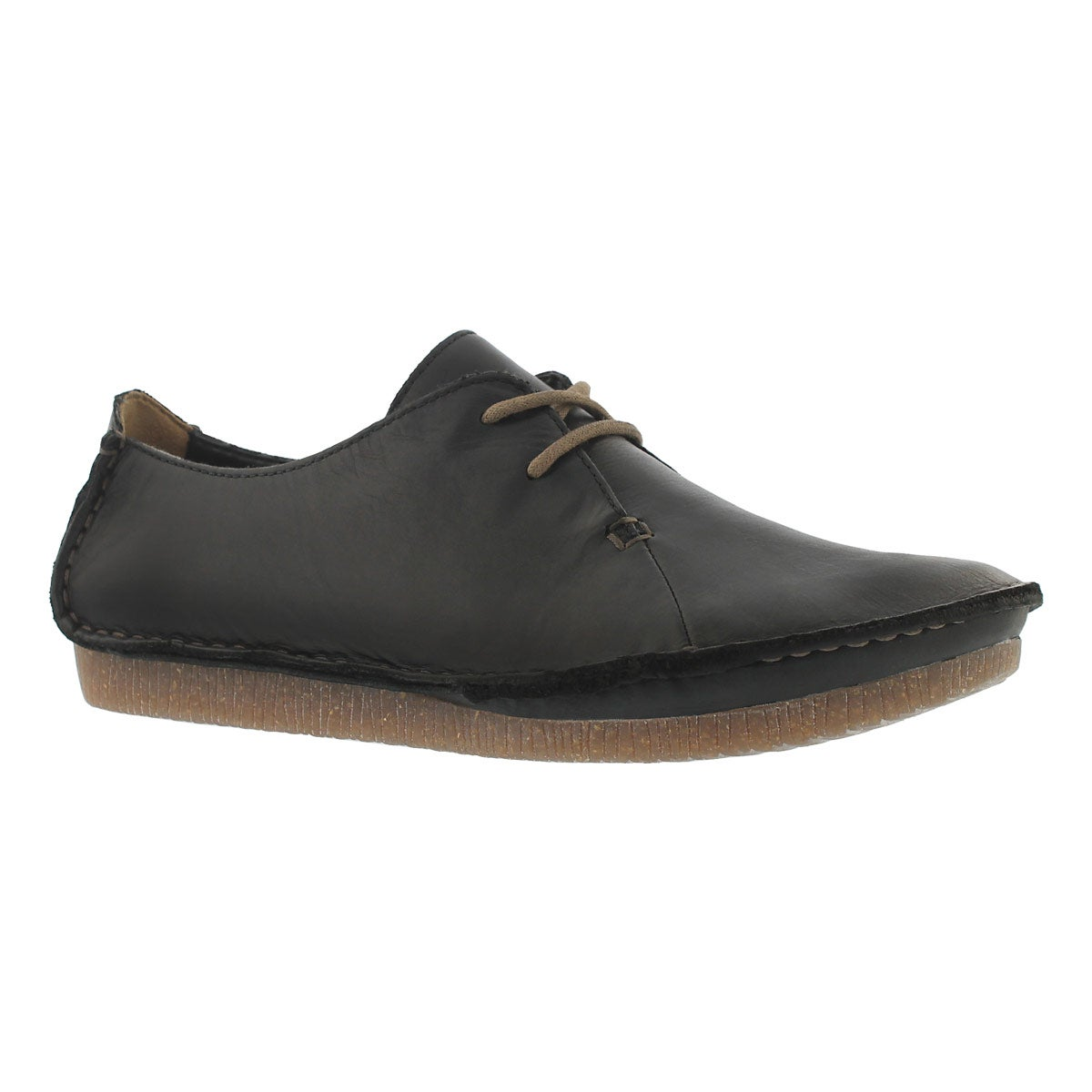 Women's JANEY MAE black casual oxfords