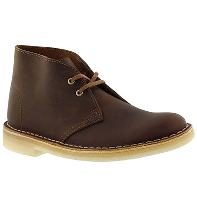 Clarks Women's ORIGINALS DESERT BOOT beeswax chukkas