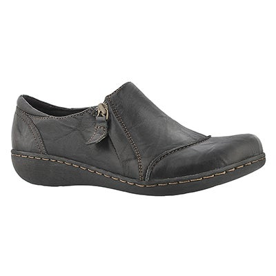Clarks Women's FIANNA CLEO black casual shoes