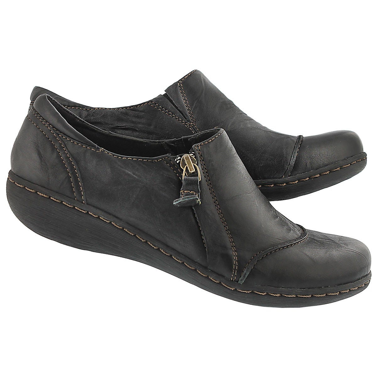 Lds Fianna Cleo black casual shoe