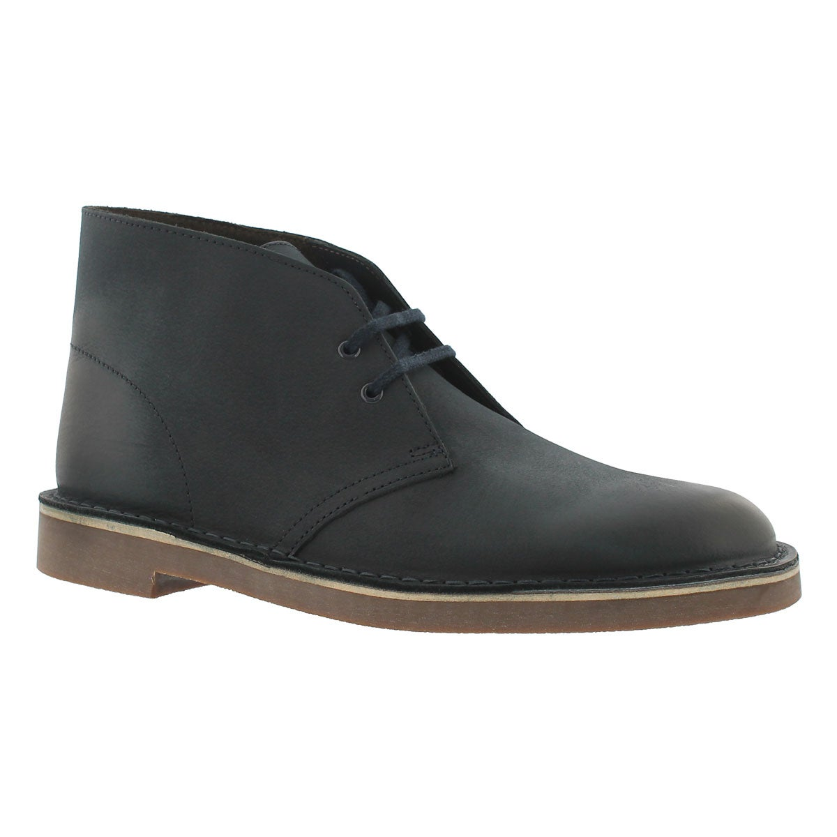 Mns Bushacre 2 navy leather chukka boot