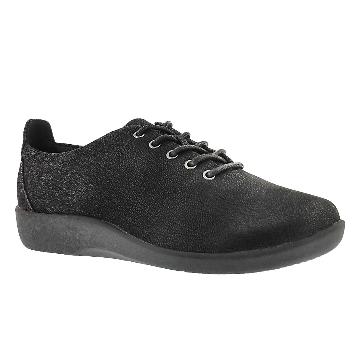 Women's SILLIAN TINO black casual oxfords