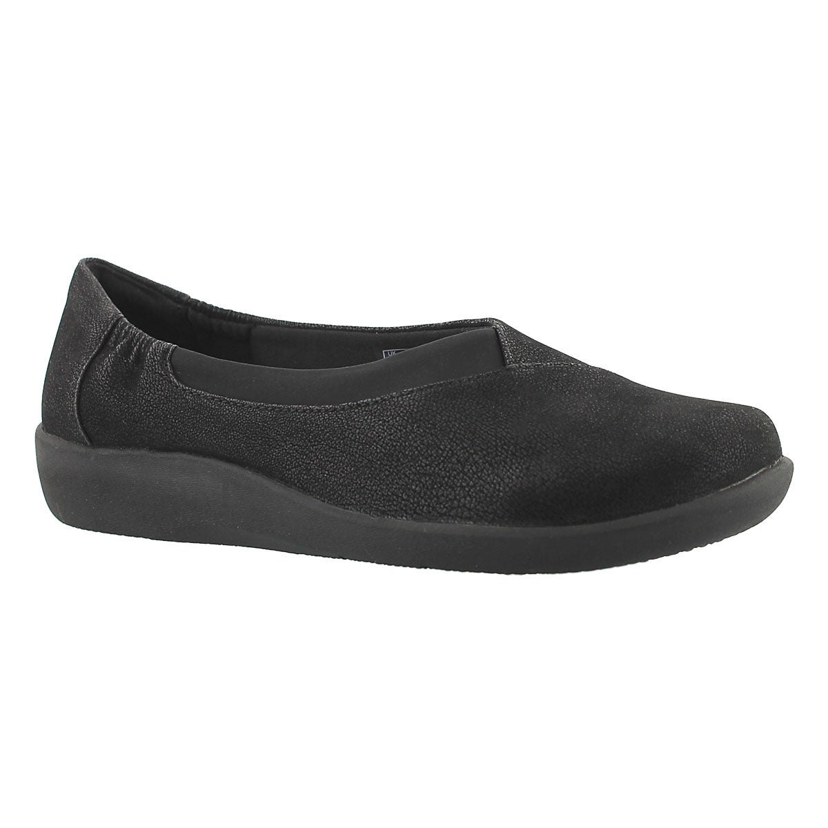 Women's SILLIAN JETAY black casual slip ons