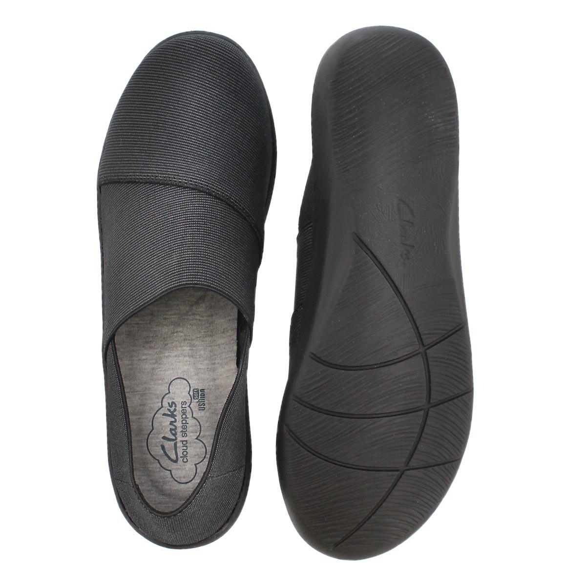 Lds Sillian Firn black casual slip on