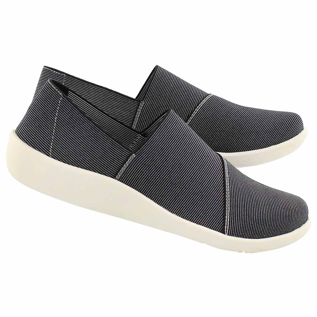 Lds Sillian Firn blk mlti casual slip on