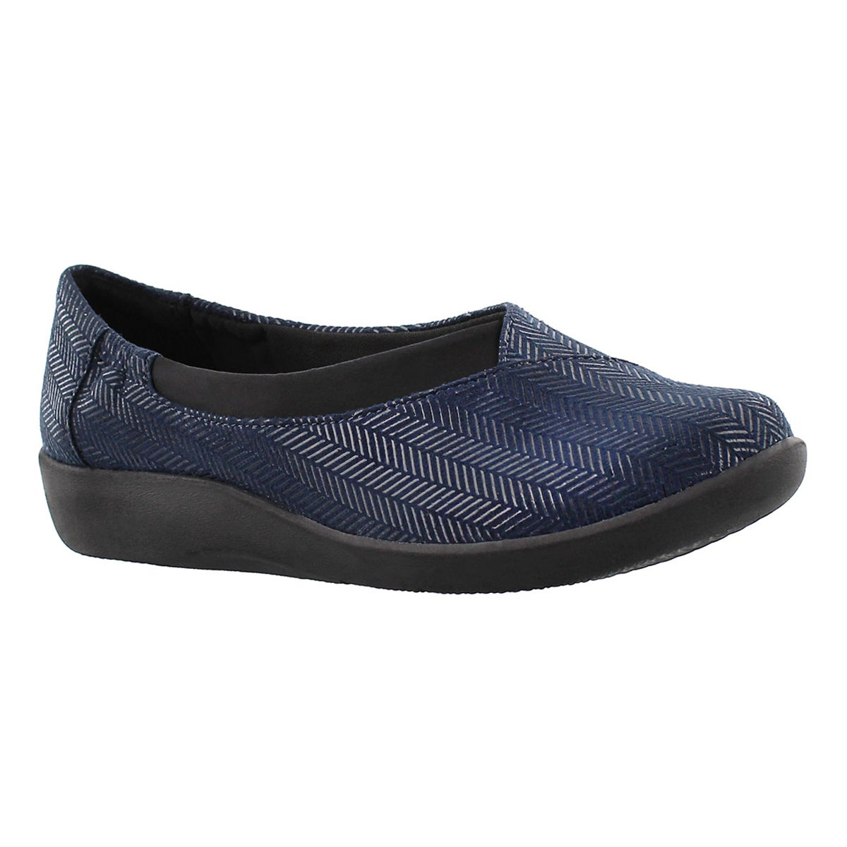 Women's SILLIAN JETAY navy casual slip ons