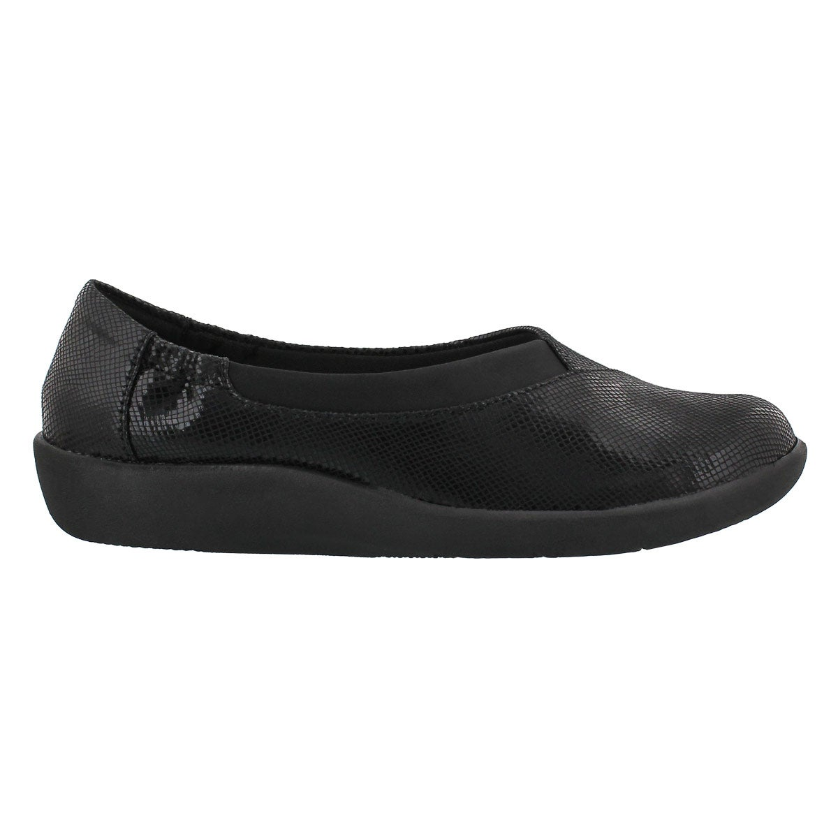 Lds Sillian Jetay blk mini dmnd slip on