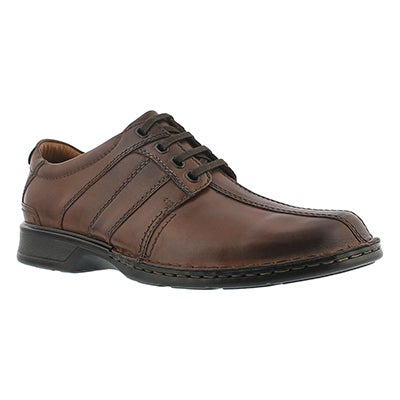 Mns Touareg Vibe brn lace up casual shoe