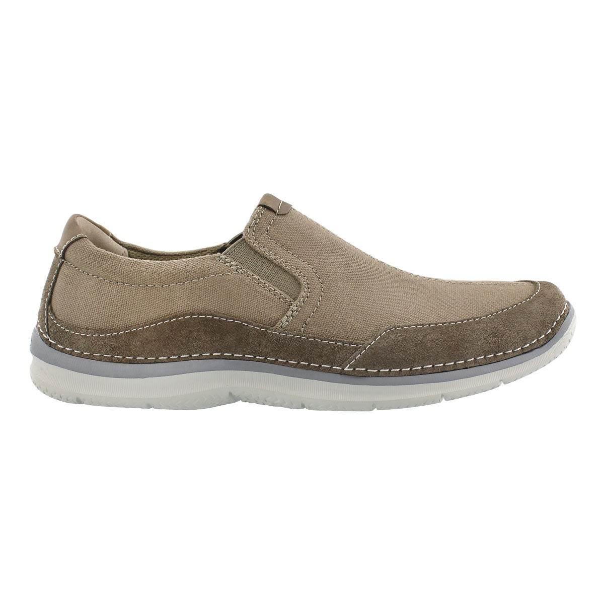 Mns Ripton Free olive slipon casual shoe