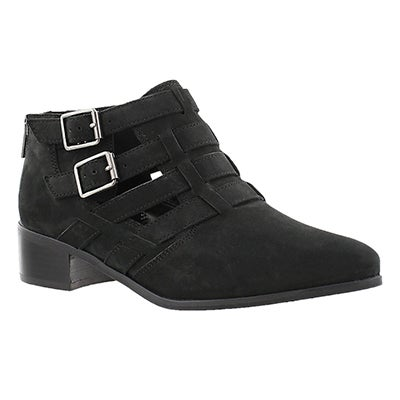 Clarks Women's MARLINA RAMBLE black ankle boots