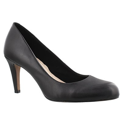 Clarks Women's CARLITA COVE black dress pumps