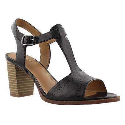 Clarks Sandales habillées CIERRA GLASS, noir, femmes