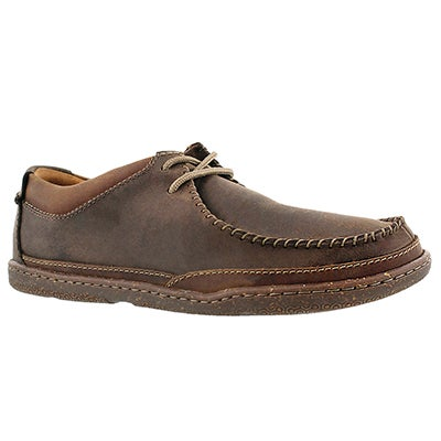 Clarks Men's TRAPELL PACE brown casual lace ups