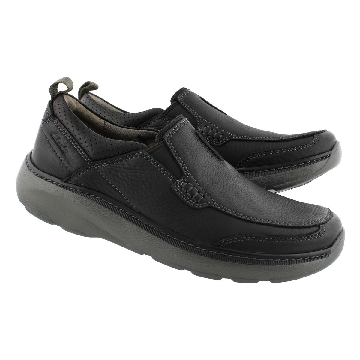 Mns Charton Step black casual slip on