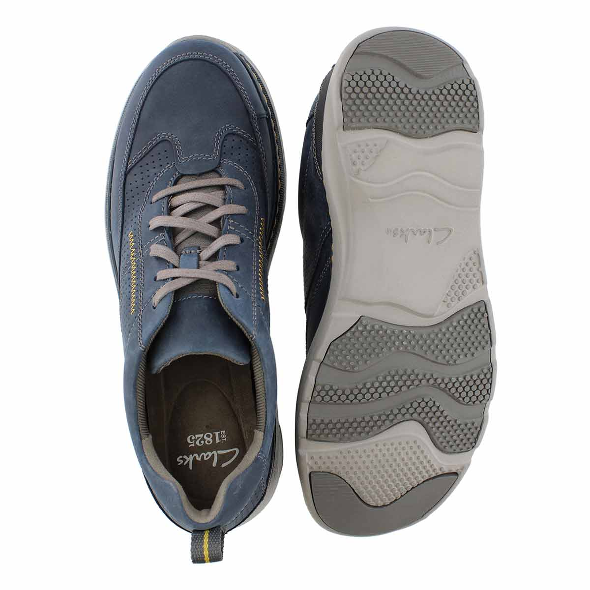 Mns Charton Mix navy casual lace up