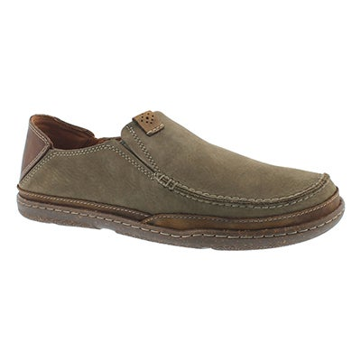 Mns Trapell Form olive casual slip on