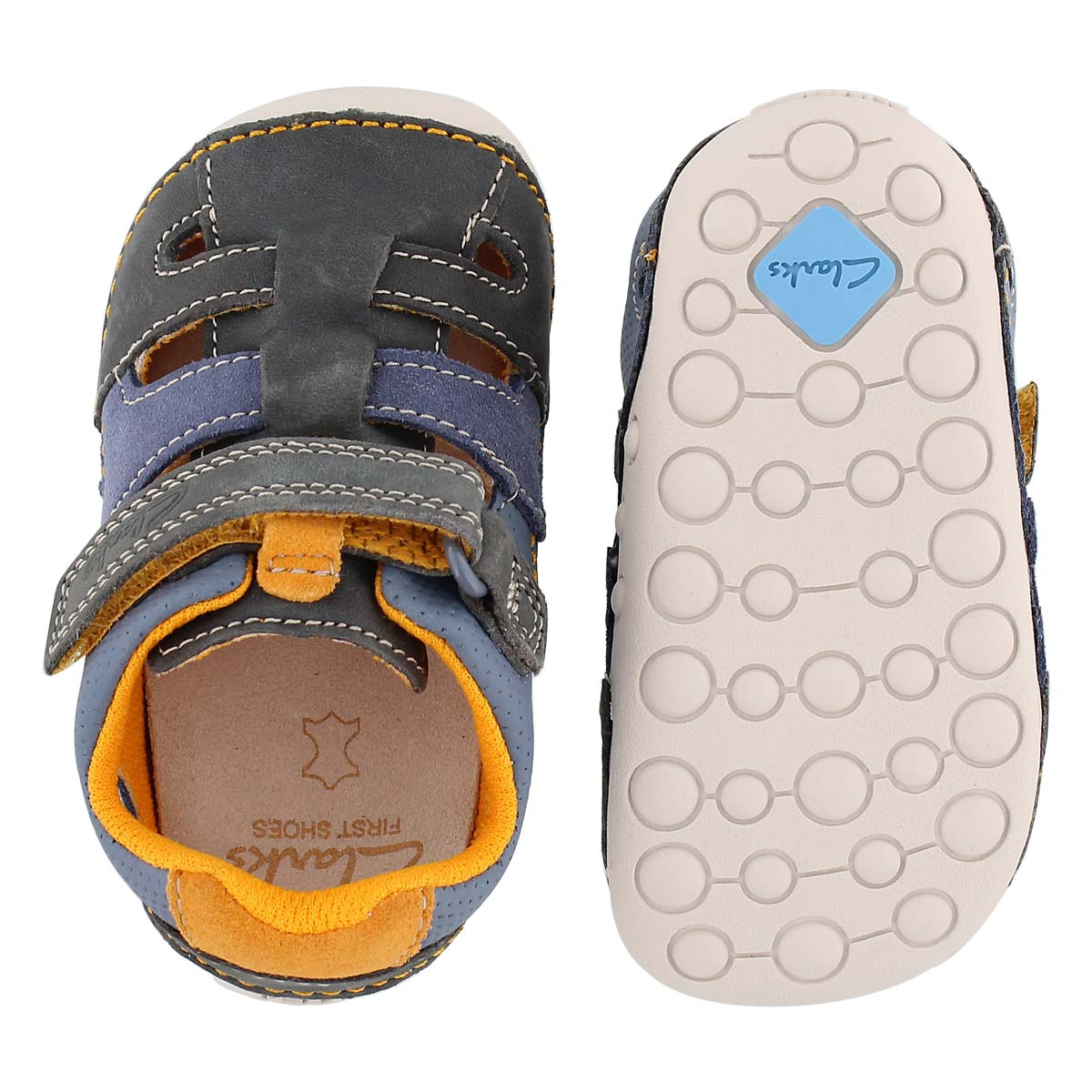 Inf Tiny Artie gry fishman sandal-wide