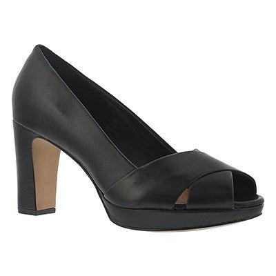 Lds Jenness Cloud black dress heel