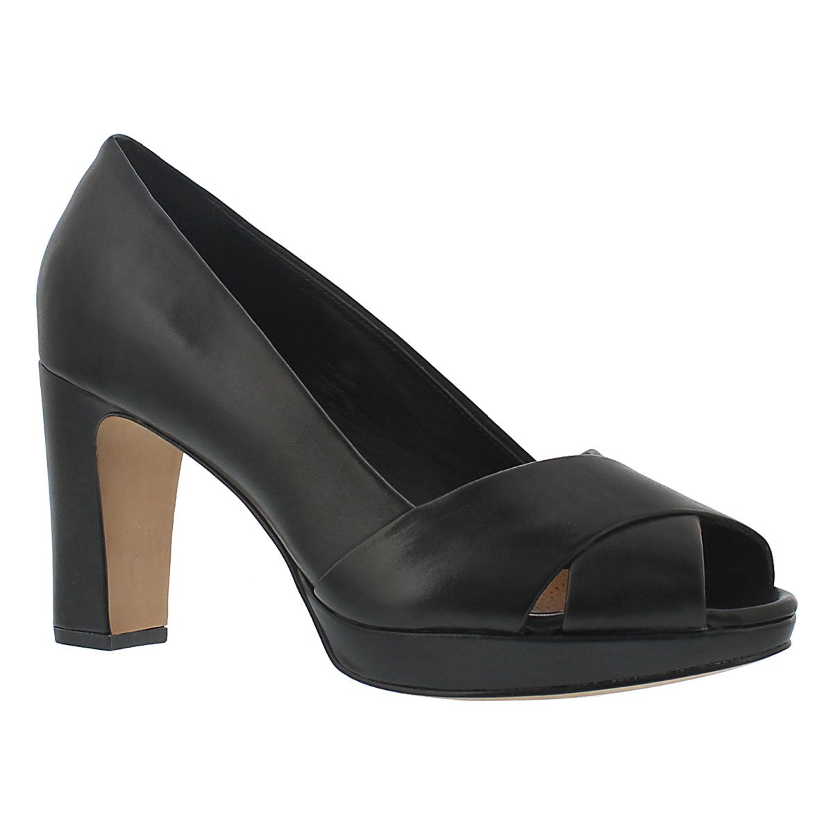 Lds Jenness Cloud black dress heel