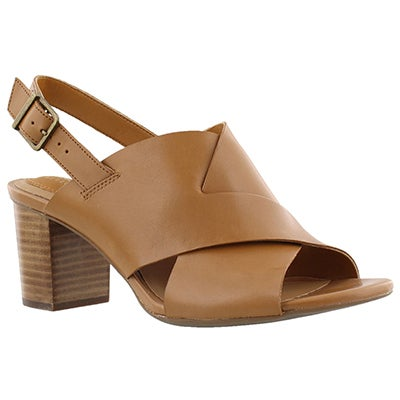 Clarks Women's RALENE VIVE tan dress sandals